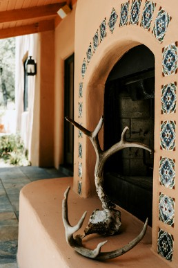 Villa Agave Outdoor Fireplace
