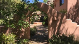 The Villa Agave Arch and Fountain
